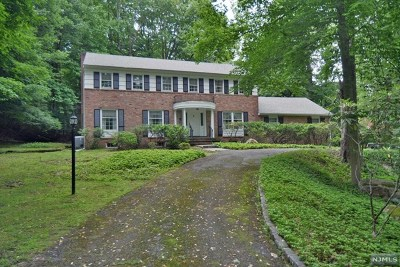 Saddle River Single Family Home For Sale: 20 Westerly Road