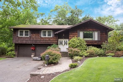 Closter Single Family Home For Sale: 8 Cross Street