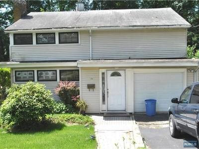 Waldwick Single Family Home For Sale: 42 Donald Place