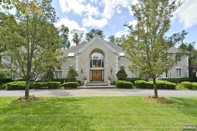 Saddle River Single Family Home For Sale: 3 South Pond Road