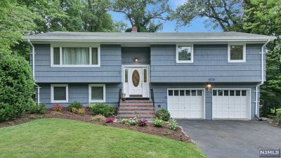 Woodcliff Lake Single Family Home For Sale: 44 Amy Court