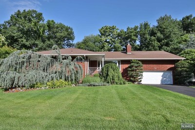 Fair Lawn Single Family Home For Sale: 390 North Plaza Road