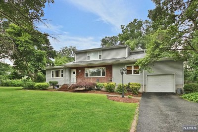 Franklin Lakes Single Family Home For Sale: 628 Franklin Avenue