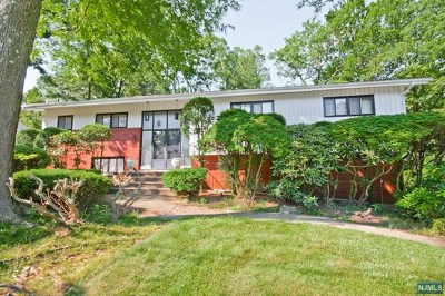 Englewood Cliffs Single Family Home For Sale: 32 Allison Drive