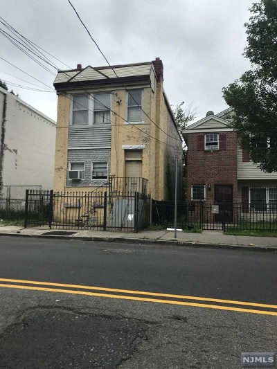Newark NJ Multi Family 2-4 For Sale: $115,000