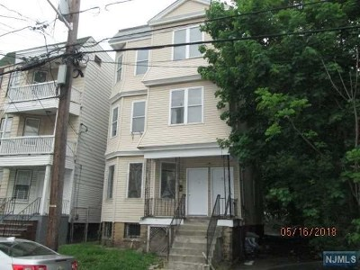 Irvington NJ Multi Family 2-4 For Sale: $124,900