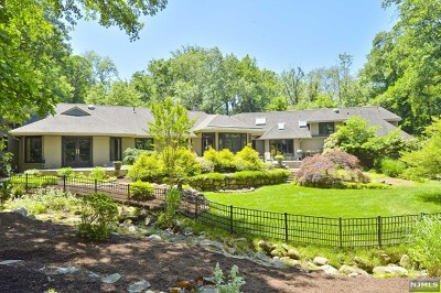 Saddle River Single Family Home For Sale: 23 Westerly Road