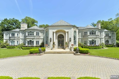 Saddle River Single Family Home For Sale: 101 Fox Hedge Road