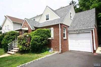 Fair Lawn Single Family Home For Sale: 1-37 34th Street
