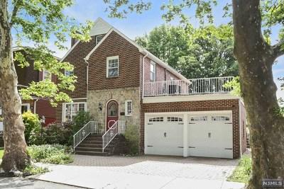 Cliffside Park Single Family Home For Sale: 508 Westview Avenue