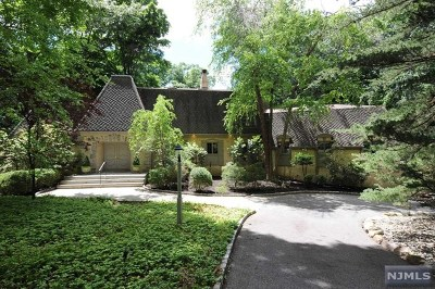 Saddle River Single Family Home For Sale: 20 Baldwin Road