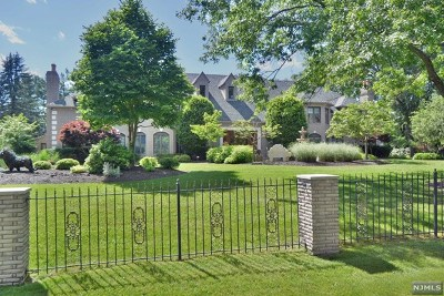 Saddle River Single Family Home For Sale: 1 High Meadow Road