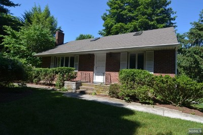 Closter Single Family Home For Sale: 158 Demarest Avenue
