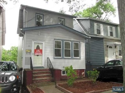 Irvington NJ Single Family Home For Sale: $79,900