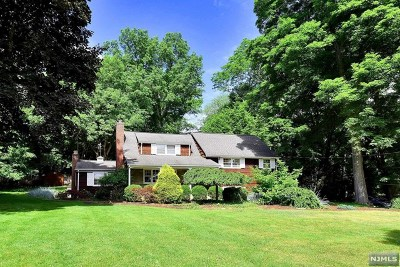 Upper Saddle River Single Family Home For Sale: 457 West Saddle River Road