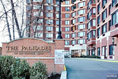 Fort Lee Condo/Townhouse For Sale: 100 Old Palisade Road #Pl11