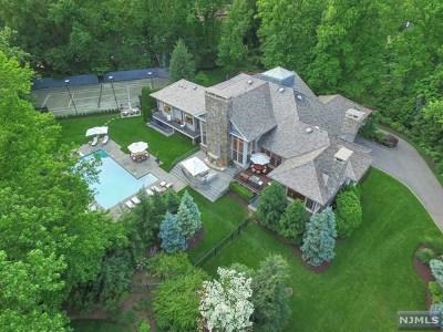 Alpine NJ Single Family Home For Sale: $10,250,000