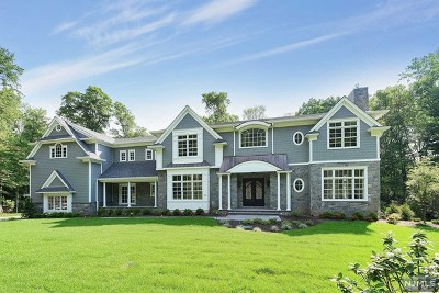 Saddle River Single Family Home For Sale: 25 Overlook Road
