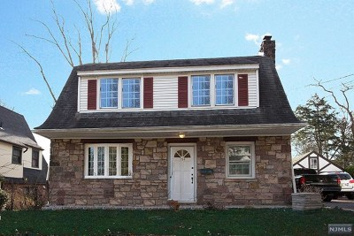 Tenafly Single Family Home For Sale: 154 Sussex Road