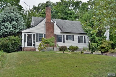 Glen Rock Single Family Home For Sale: 174 Sycamore Terrace