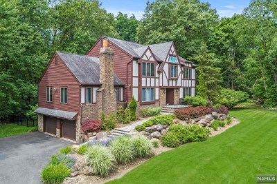 Franklin Lakes Single Family Home For Sale: 703 Mackinaw Trail