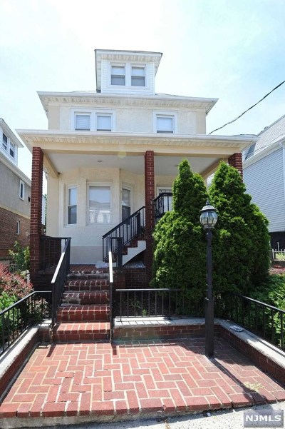 North Bergen Single Family Home For Sale: 321 72nd Street