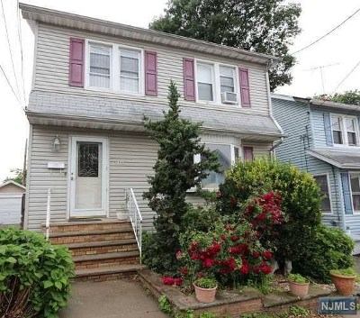 North Bergen Single Family Home For Sale: 1405 83rd Street