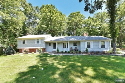 Upper Saddle River Single Family Home For Sale: 55 Mill Glen Road