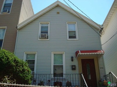 Hudson County Single Family Home For Sale: 216 Hancock Avenue