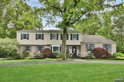 Franklin Lakes Single Family Home For Sale: 899 Woodfield Road