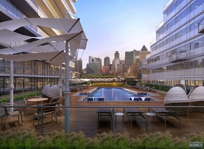 Weehawken Condo/Townhouse For Sale: 800 Ave At Port Imperial #320