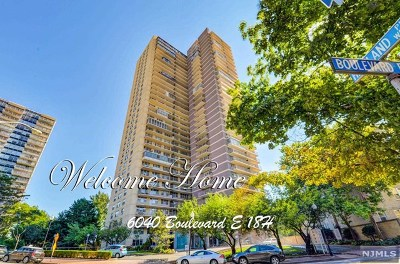 West New York Condo/Townhouse For Sale: 6040 Boulevard East #18h