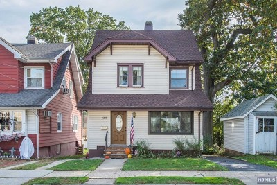 Hudson County Single Family Home For Sale: 166 Argyle Place