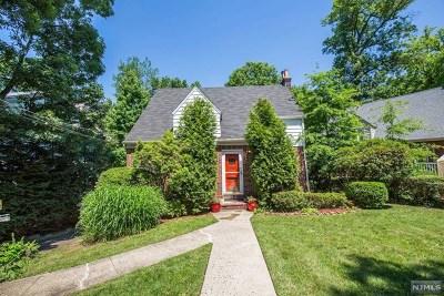 Teaneck Single Family Home For Sale: 1526 Jefferson Street