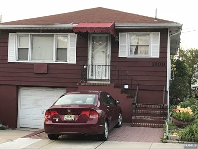 North Bergen Single Family Home For Sale: 1700 78th Street