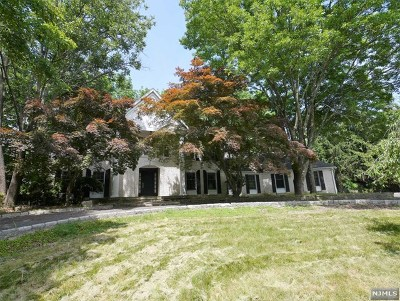 Upper Saddle River Single Family Home For Sale: 9 Mallard Run