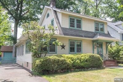 Hackensack Single Family Home For Sale: 227 Poplar Avenue