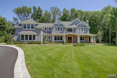 Saddle River Single Family Home For Sale: 3 Bridle Way