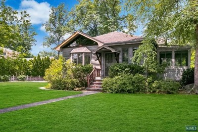 Woodcliff Lake Single Family Home For Sale: 31 Lincoln Avenue