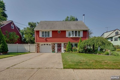 Little Ferry Single Family Home For Sale: 11 Couchon Drive