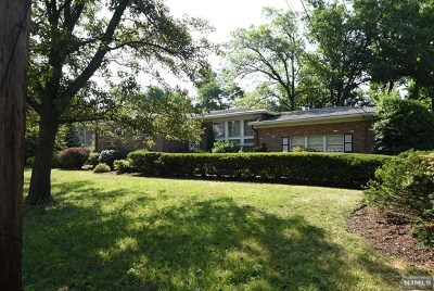 Englewood Cliffs Single Family Home For Sale: 19 Lynn Drive