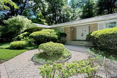 Saddle River Single Family Home For Sale: 17 Hawthorne Terrace