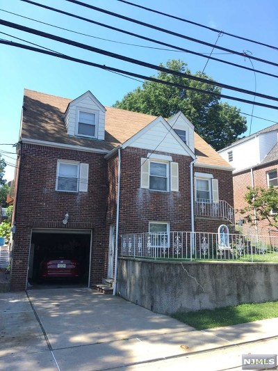 Cliffside Park Multi Family 2-4 For Sale: 382 Lafayette Avenue