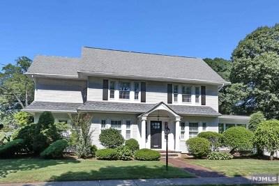 Glen Rock Single Family Home For Sale: 52 Berkeley Place