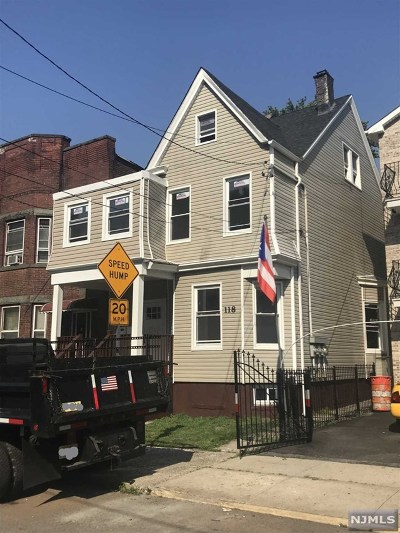 Newark NJ Multi Family 2-4 For Sale: $180,000