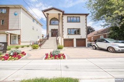 Cliffside Park Single Family Home For Sale: 388 Adolphus Avenue