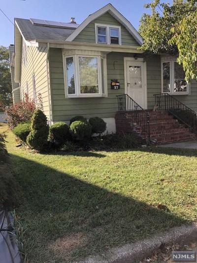 Little Ferry Single Family Home For Sale: 27 Roosevelt Street