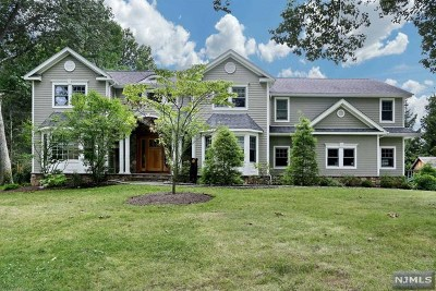 Woodcliff Lake Single Family Home For Sale: 44 Woodland Road