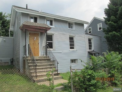 Paterson NJ Single Family Home For Sale: $44,900