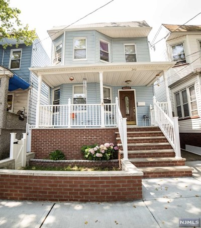 Kearny NJ Multi Family 2-4 For Sale: $430,000